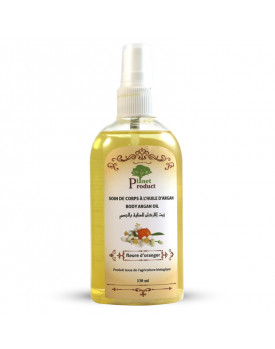 Argan oil scented with orange blossom