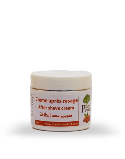 Crème après rasage