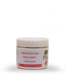 Crème de rose 50 gr
